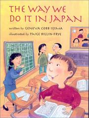 Cover of: The way we do it in Japan | Geneva Cobb Iijima