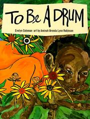 Cover of: To be a drum