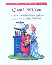 Cover of: When I miss you