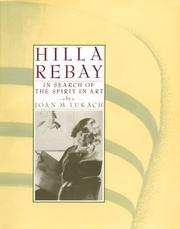 Cover of: Hilla Rebay