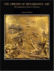 Cover of: The origins of Renaissance art