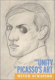 Cover of: The Unity of Picasso's Art