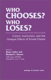 Cover of: Who chooses? who loses? |