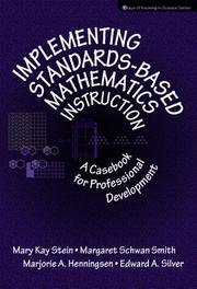 Cover of: Implementing Standards-Based Mathematics Instruction | Margaret Schwan Smith