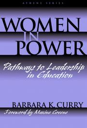 Cover of: Women in Power