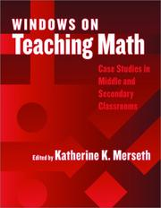 Cover of: Windows on Teaching Math