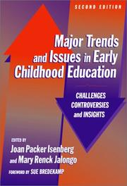 Cover of: Major trends and issues in early childhood education