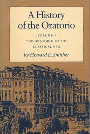 Cover of: A History of the Oratorio: Vol. 3 | Howard E. Smither