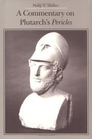 Cover of: A commentary on Plutarch's Pericles | Philip A. Stadter