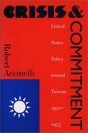 Cover of: Crisis and commitment