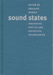 Sound States by Adalaide Kirby Morris