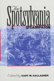 Cover of: The Spotsylvania campaign |