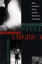 Cover of: Running steel, running America