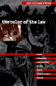 Cover of: The color of the law