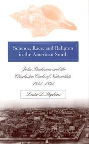 Cover of: Science, race, and religion in the American South