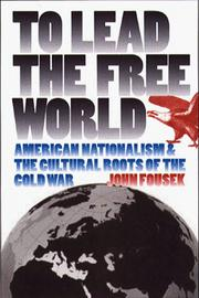 Cover of: To lead the free world