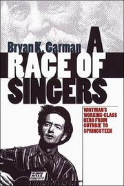 Cover of: A race of singers