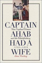 Cover of: Captain Ahab Had a Wife | Lisa Norling