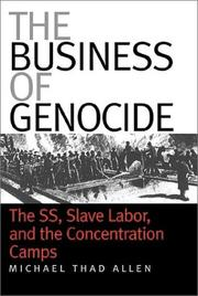 Cover of: The business of genocide | Michael Thad Allen