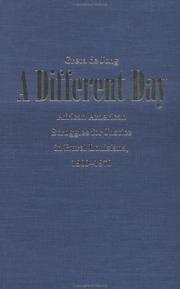 Cover of: A Different Day | Greta de Jong