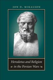 Cover of: Herodotus and Religion in the Persian Wars | Jon D. Mikalson