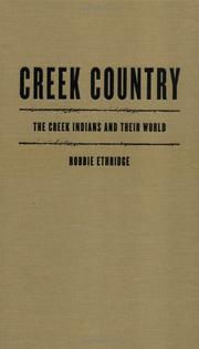 Cover of: Creek Country | Robbie Ethridge