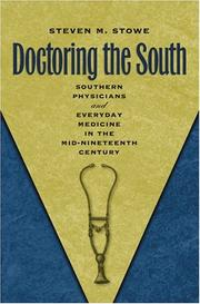 Cover of: Doctoring the South
