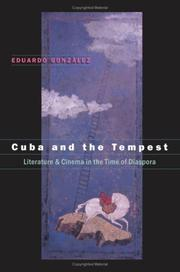 Cover of: Cuba and the Tempest | Eduardo Gonzçlez