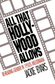 All that Hollywood allows by Jackie Byars