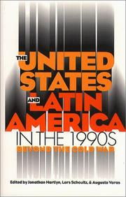 Cover of: The United States and Latin America in the 1990s