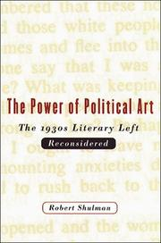 Cover of: The power of political art