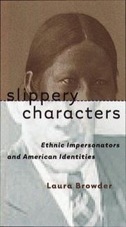 Cover of: Slippery characters