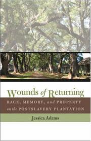 Cover of: Wounds of Returning | Jessica Adams