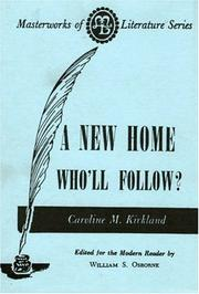 Cover of: A new home--who