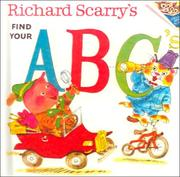 Cover of: Richard Scarry's find your ABC's