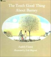 Cover of: The tenth good thing about Barney