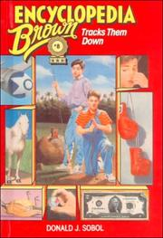 Cover of: Encyclopedia Brown Tracks Them Down (Encyclopedia Brown)