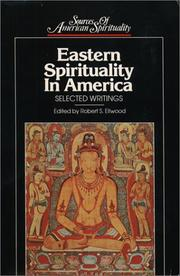 Cover of: Eastern Spirituality in America: Selected Writings (Sources of American Spirituality)