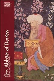 Cover of: Ibn Abbad of Ronda