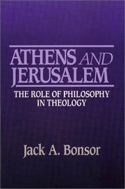 Cover of: Athens and Jerusalem