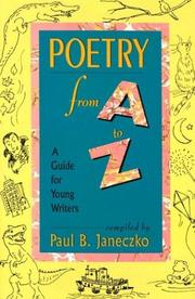 Cover of: Poetry From A to Z