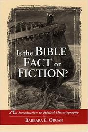 Cover of: Is the Bible Fact or Fiction?