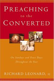 Cover of: Preaching to the Converted