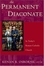 Cover of: The Permanent Diaconate