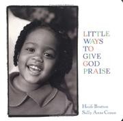 Cover of: Little ways to give God praise