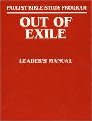 Cover of: Out of exile | Conrad L
