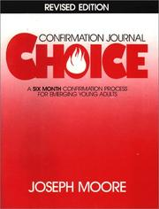 Cover of: Choice | Moore, Joseph