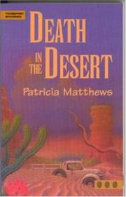 Cover of: Death in the desert