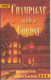 Cover of: Champagne With a Corpse | Joan Lowery Nixon