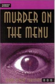 Cover of: Murder on the menu